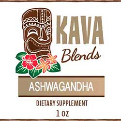 Happy Kava Ashwagandha Tincture Blend