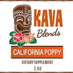 Happy Kava California Poppy Tincture Blend