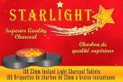 Starlight Charcoal (10/Roll)