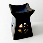 Ceramic Oil Burner (Blue Copal)