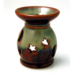 Ceramic Oil Burner (Rustic Moon)